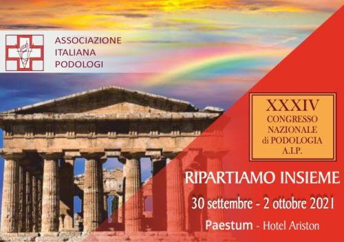 XXXIV Convegno nazionale di Podologia AIP