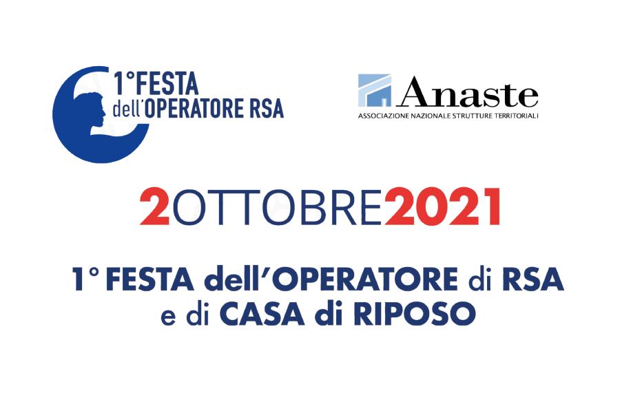 1° FESTA dell'OPERATORE di RSA e di CASA di RIPOSO