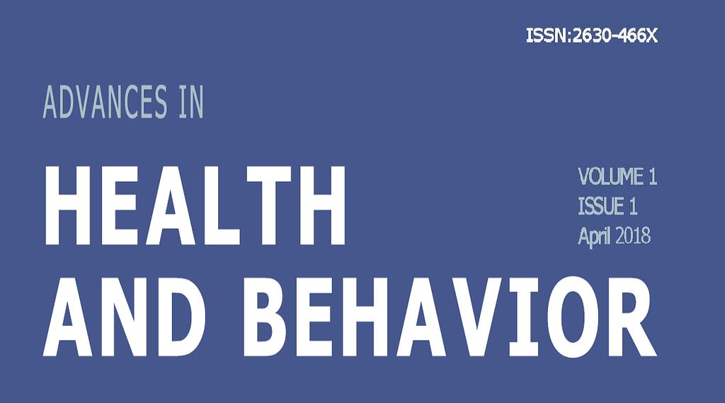 Advances Health and Behavior